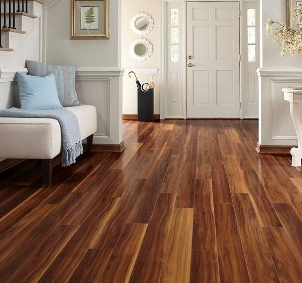 Lựa chọn sàn gỗ phủ óc chó cho cuộc sống hiện đại, tiện nghi