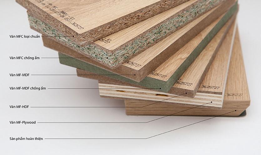 Điểm danh các loại vật liệu gỗ công nghiệp được sử dụng phổ biến