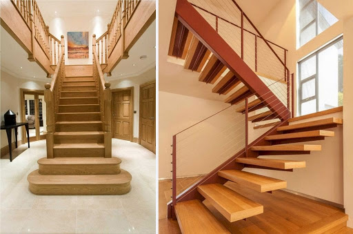 Bậc cầu thang đẹp và các thông số kích thước cần phải biết