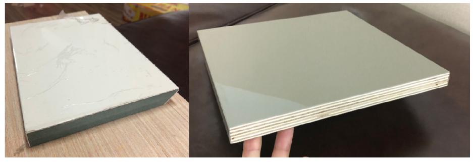 Giải pháp tối ưu  chống cong cho cánh tủ phủ Acrylic