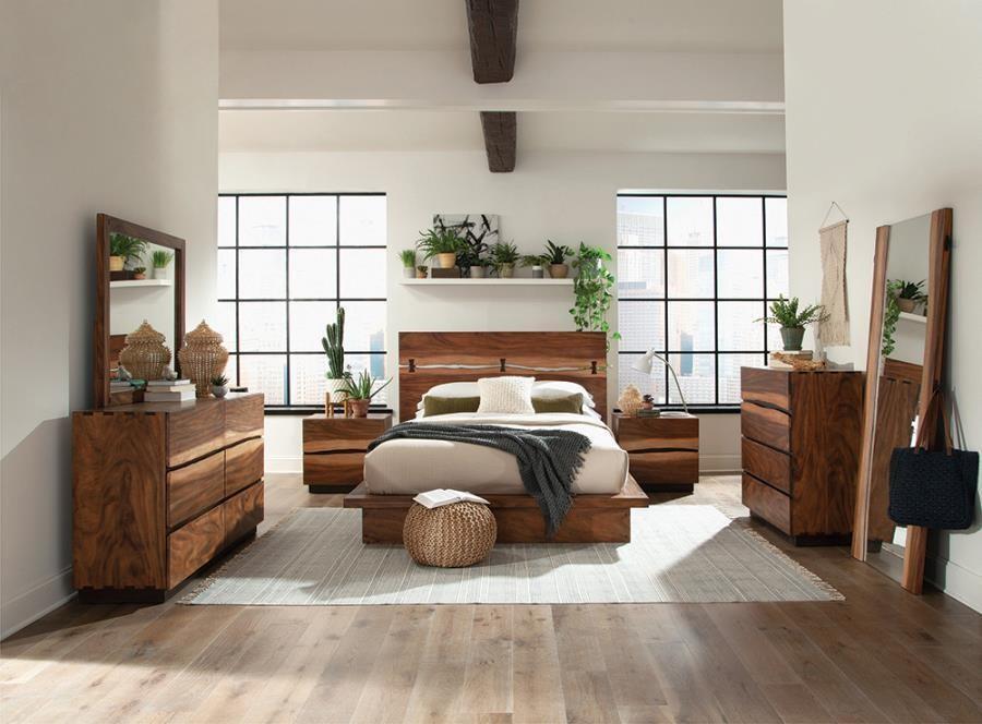 Top 5 mẫu thiết kế nội thất bằng gỗ Veneer óc chó đẹp nhất